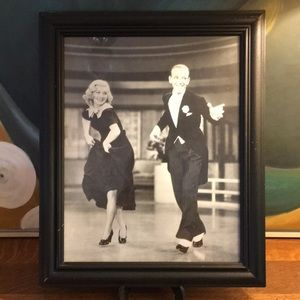 Ginger Rogers Fred Astaire Framed Photograph